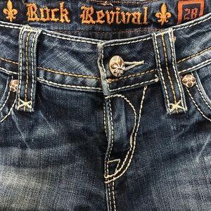 Rock Revival Jeans - EUC Rock Revival Alanis Boot Jeans Size 28
